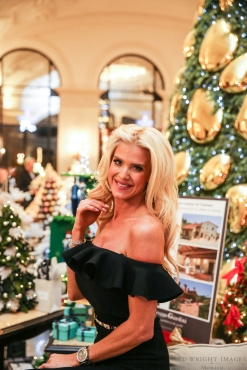 Victoria Silvstedt at the Christmas Tress charity auction ©EdWrightImages