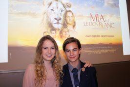 Daniah De Villiers (Mia) and Ryan Mac Lennan (Mick), Monaco November 30, 2018 @CelinaLafuentedeLavotha