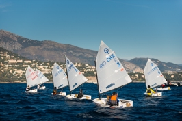 Competitors in 10th Monaco Optimist Team Race, January 10-13, 2019 @mesi_md