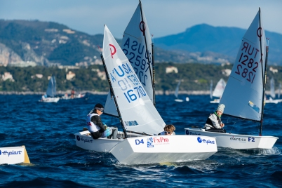 Competitors in Monaco Optimist Team Race, January 10-13, 2019 @mesi_md