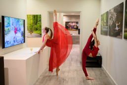 Dancers in the Kamil Art Gallery, Monaco by Jordan Matter