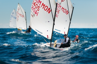 Monegasque competitors in Monaco Optimist Team Race, January 10-13, 2019 @mesi_md