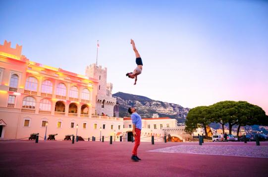 Nicolas Jelmoni and Charlotte O'Sullivan New Monaco by Jordan Matter