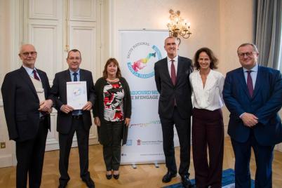 Societe Monegasque d'Eaux signed the National Energy Transition Pact @Stephane Danna, Direction de la Communication