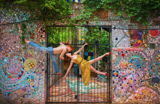 Storming the Gate, Philadelphia, PA by Jordan Matter