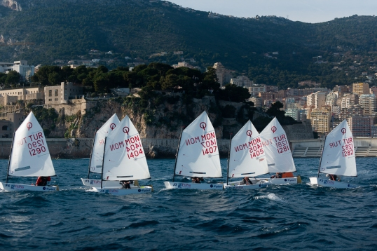 Turkey and Monaco competitors in 10th Monaco OptimistTeam Race, January 10-13, 2019@mesi_bd