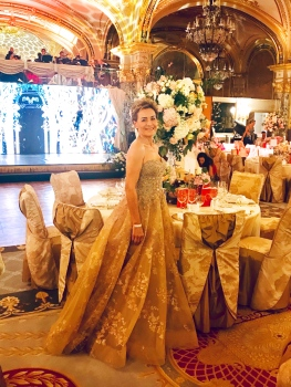 Celina Lafuente de Lavotha at The Grand Ball of Princes and Princesses, February 14, 2019