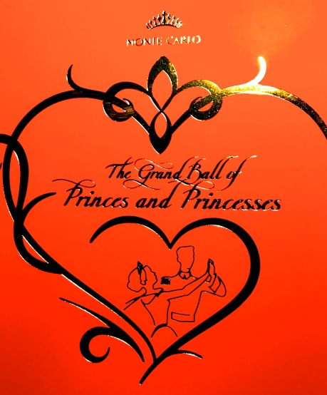 Invitation to The Grand Ball of Princes and Princesses, February 14, 2019