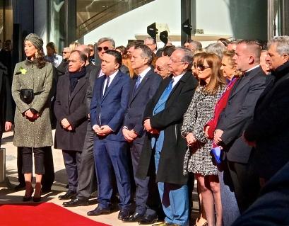 Jean Castellini, Jean-Louis Grinda, Stephane Valeri, Georges Marsan, Cristiano Gallo, and other dignitaries @CelinaLafuentedeLavotha