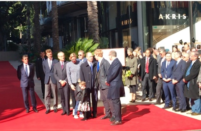 Prince Albert and Princess Charlene, Pierre Casiraghi, Jean Luc Biamonti, Stephane Valeri, Georges Marsan and other dignitaries, February 22, 2019 @CelinaLafuentedeLavotha