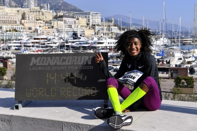 Sifan Hassan Monaco Run 2019 © Manuel Vitali – Direction de la Communication