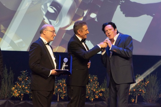 Italian Ambassador Cristiano Gallo presented MCFF Award to Michael Madsen MCFF 2019 @WebStudio06