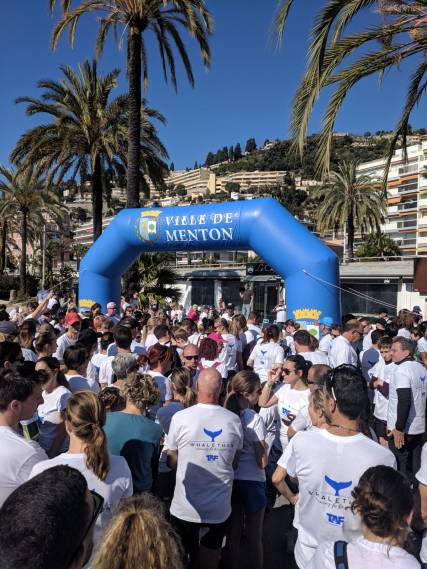 Over 400 participants in Run for the Ocean 2019 @TAF