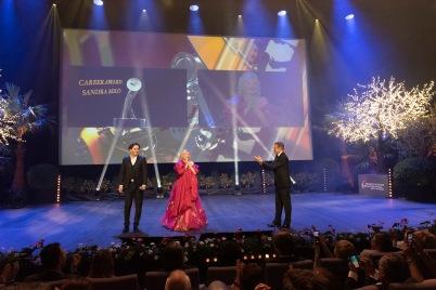 Sandra Milo received the Career Award MCFF 2019@WebStudio06