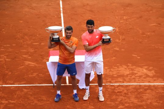 Nikola Mektic and Franco Skugor,Doubles champions, Sunday, April 21, 2019 @CelinaLafuentedeLavotha