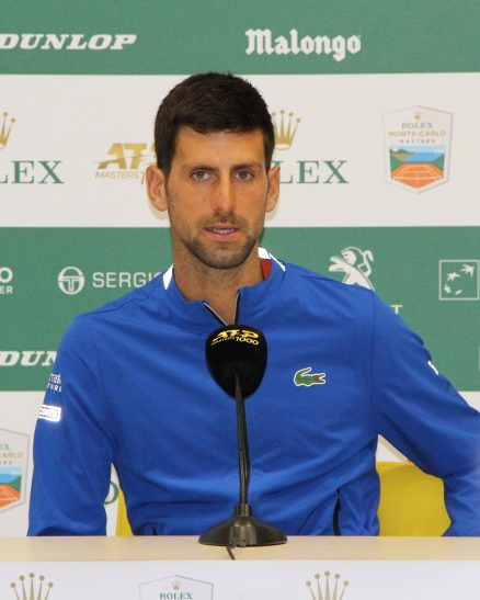 Novak Djokovic (Serbian), World No. 1, Sunday, April 14, 2019 @CelinaLafuentedeLavotha