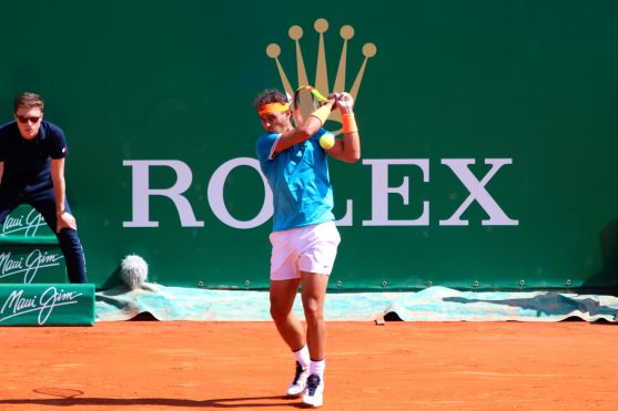 Rafael Nadal on his first match at the Rolex Monte-Carlo Masters 2019 @CelinaLafuentedeLavotha