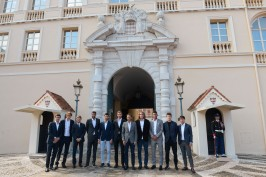 The top ranked tennis players in front of the Palace, Sunday, April 14, 2019@Realis