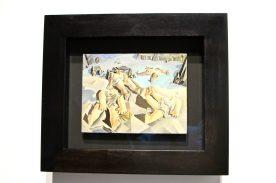 Dali influenced by Leonardo Da Vinci - Figures LYing on the Sand, 1926, Figueres, Gala-Salvador Dali Foundation @CelinaLafuentedeLavotha