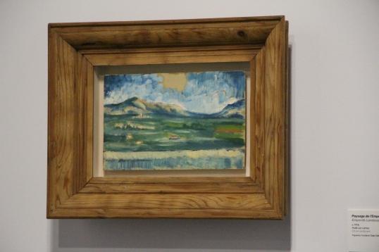 Emporda Landscape v. 1916, Oil on Cardboard, Figueres, Fundacion Gala-Salvador Dali. @CelinaLafuentedeLavotha, Monaco 2019