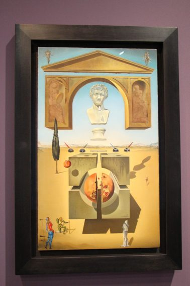 Dematerialization Near the Nose of Nero, 1947, Oil on Canvas, Figueres, Foundation Gala-Salvador Dali @CelinaLafuentedeLavotha, Monaco 2019