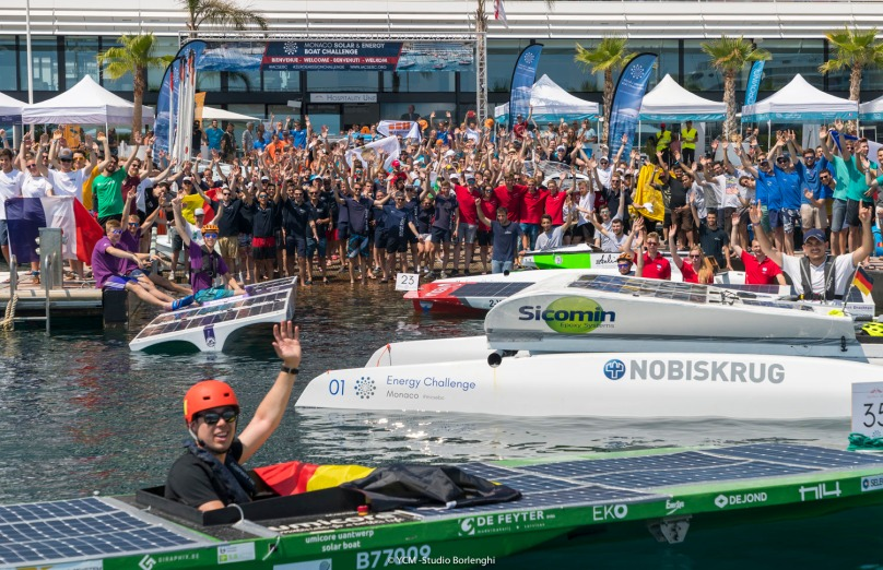 Culmination of the Monaco Solar & Energy Boat Challenge 2019 at the YCM@CarloBorlenghi_BD