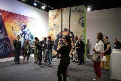 Dali exhibition Press Visit with curator Montse Aguer @CelinaLafuentedeLavotha