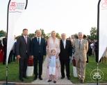 Gareth Wittstock, Louis Nègre, Princess Charlene, Prince Jacques, François Forcioli-Conti, and Dominique de Bellaigue @Eric Mathon:Palais Princier