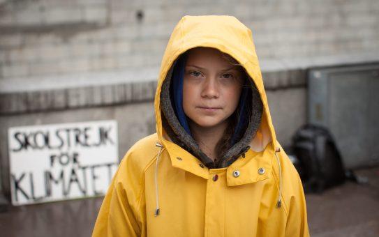 Greta Thunberg, School Strike for Climate Change @Anders Hellberg
