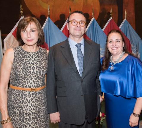 Maguy Maccario Doyle, Gildo Pallanca Pastor, Isabelle Picco @DR