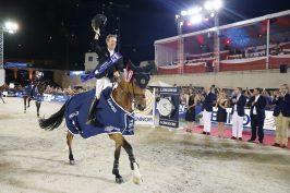 Maikel van Der Vleuten on Beauville Z @Stefano Grasso:LGCT Monaco 2019