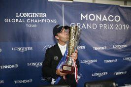 Maikel van Der Vleuten (NED) wins the LGCT of Monaco @Stefano Grasso / LGCT Monaco 2019