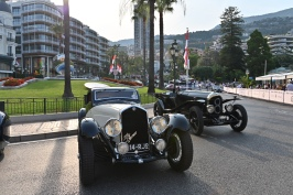 Past and Present on the Casino Square during the Automobile Elegance 2019 @ACM Follete