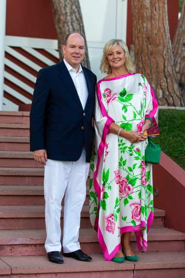 Prince Albert II of Monaco with Hilde Haneuse Heye, Saturday, July 13, 2019 @Philippe Fitte
