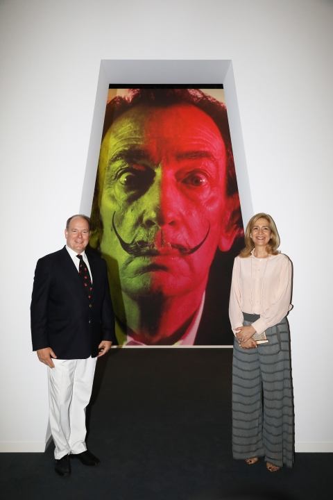 Prnce Albert II and the Infanta Cristina de Bourbon @JC Vinaj, Grimaldi Forum Monaco
