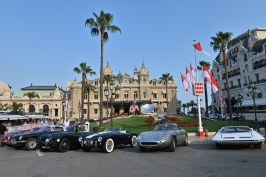 The automobiles in the Casino Square in Monte-Carlo on Saturday during the judging parade @ACM Follete