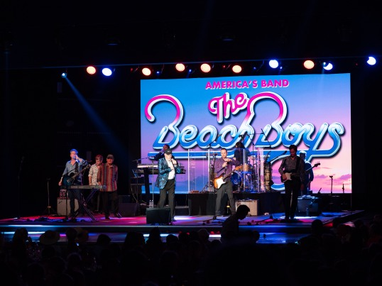 The Beach boys at the Fight Aids Monaco 15th anniversary party, July 13, 2019 @Gaetan Luci, Palais Princier