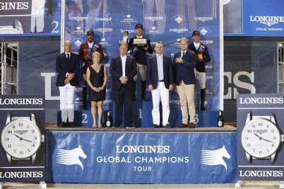 The Podium of LGCT of Monaco @Stefano Grasso /LGCT Monaco 2019