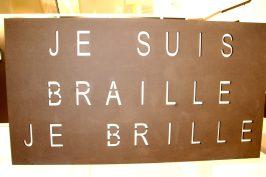Braille lumiere liberte by Claude Garrandes, GemlucArt2019 @CelinaLafuentedeLavotha
