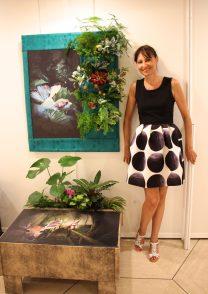 Tableau vegetalise by Calypso, GemlucArt2019 @CelinaLafuentedeLavotha