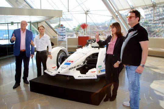 David Ciclitira, Felipe Massa, Sylvie Biancheri and Gildo Pastor @CelinaLafuentedeLavotha