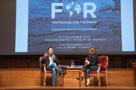 Julian Lennon interviewed by Sandrina L. Rubelli, The Festival for the Earth 2019@M_Dagnino
