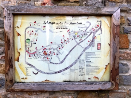 Plan of Seborga as seen by children @CelinaLafuentedeLavotha