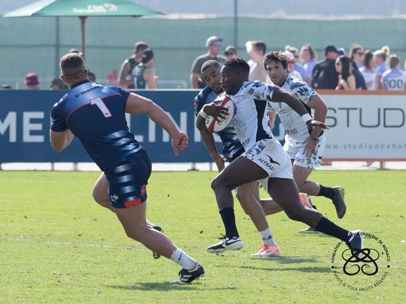 Impi's team participating in Rugby Sevens Tournament in Dubai, December 5-7, 2019 (2) © Princess Charlene of Monaco Foundation