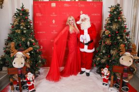 Lady Monika Baccardi with Santa Claus, Christmas Ball 2019 @M. Stanley, Smash