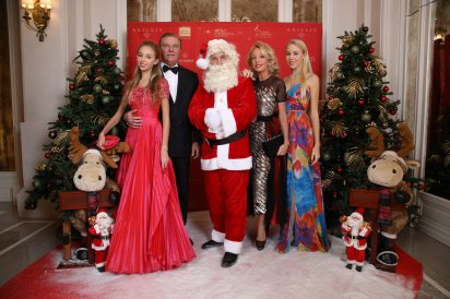 Prince and Princess Charles de Bourbon Two Sicilies and their daughters, Christmas Ball 2019 @M. Stanley, Smash
