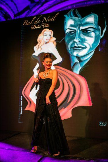 Singer Loredana Fadda, Christmas Ball 2019 @M. Stanley, Smash