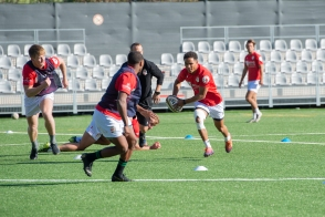 Monaco Rugby 7s during training, 2020 @Florian Vidot