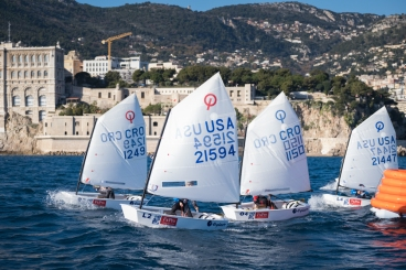 Optimist Team Race, January 2020, Monaco, YCM@mesi_BDHD