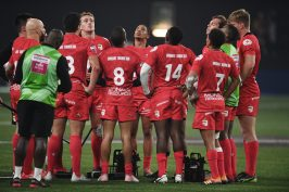 Barbarians vs Monaco, Places 5 & 8, Super Seves, Paris, February 1, 2020@David Niviere